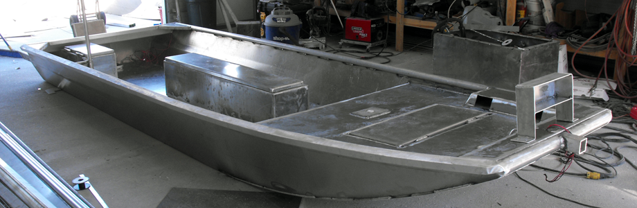 Extreme Metal Fabrication Custom Aluminum Boats Duck